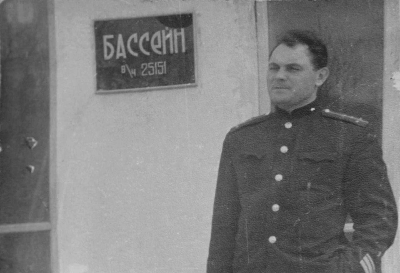 Капитан-лейтенант Огурцов. Командир взвода УОПП 25151