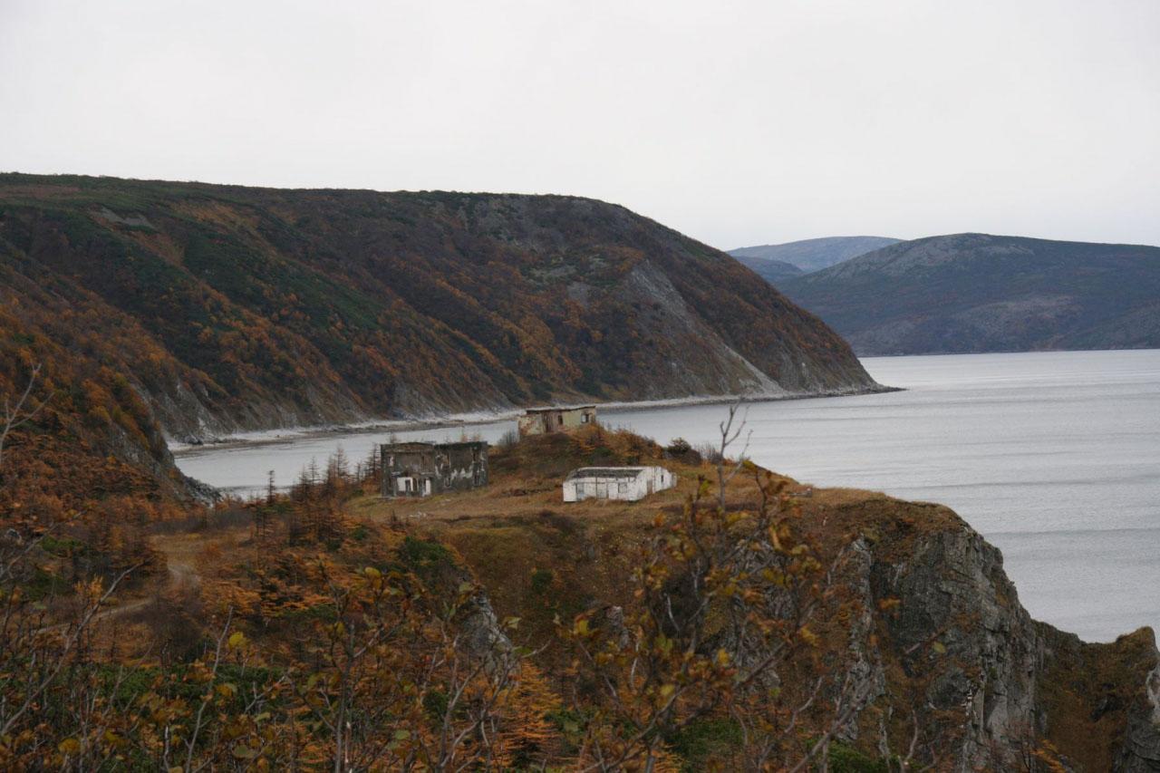 Мыс Островной. Пост наблюдения за входом в бухту Нагаева