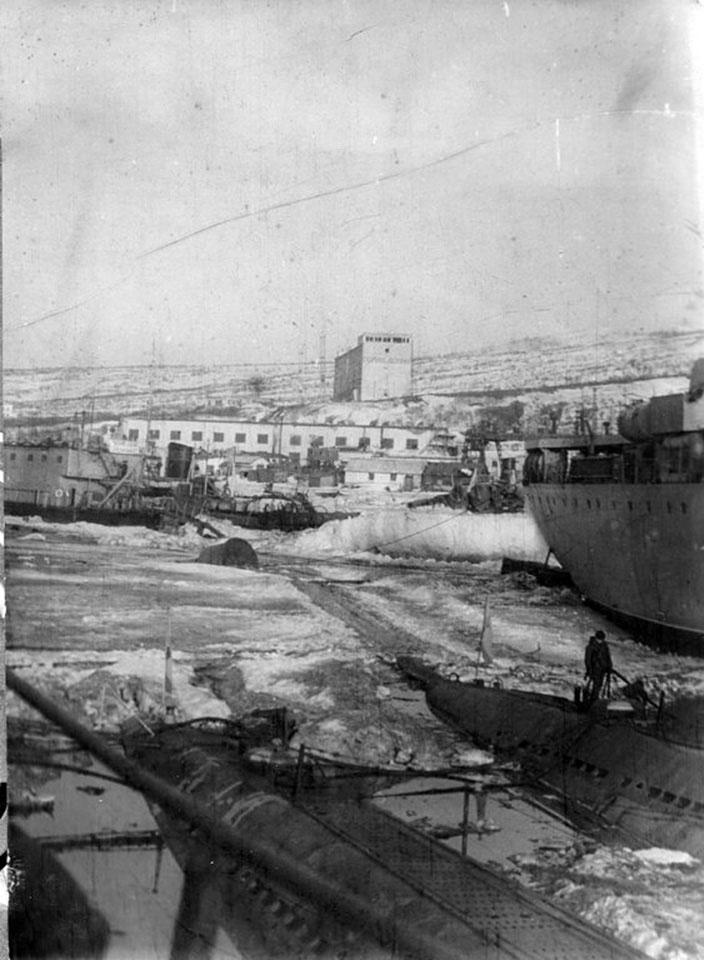 Магадан. Зима 1971-1972 года.