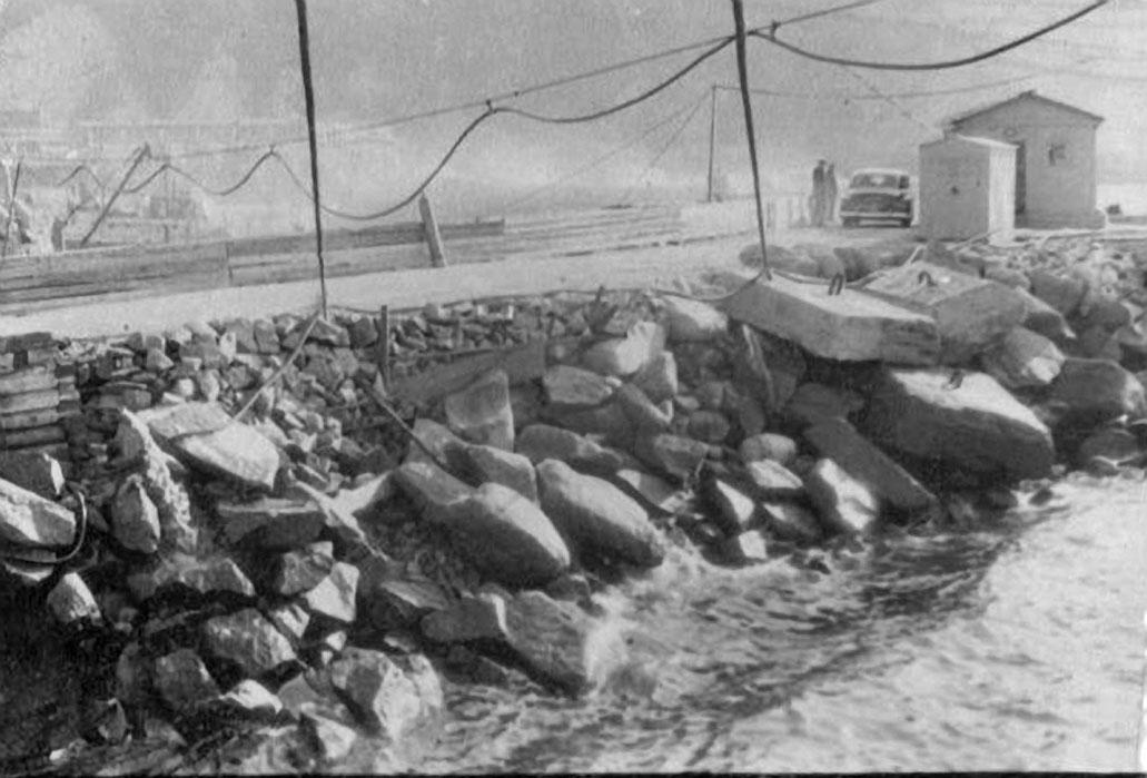 Дорога и КПП 171 ОБрПЛ (1964-66 года).