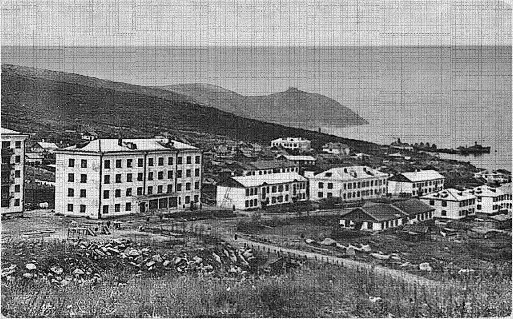 Посёлок Марчекан.