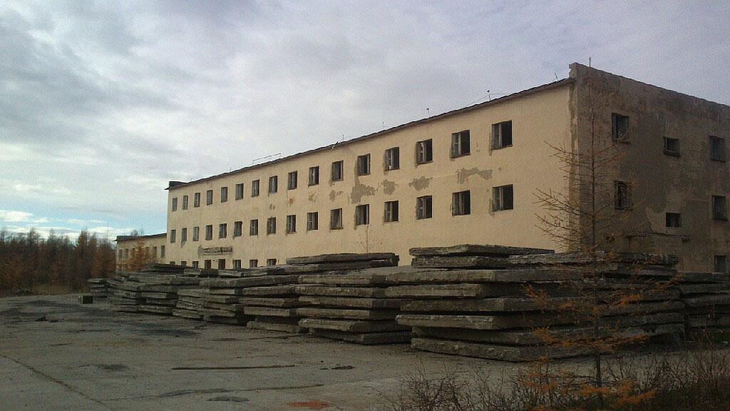 Новое здание части