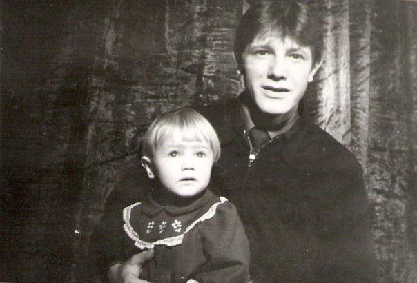 Александр Щеняев с дочкой Анастасией