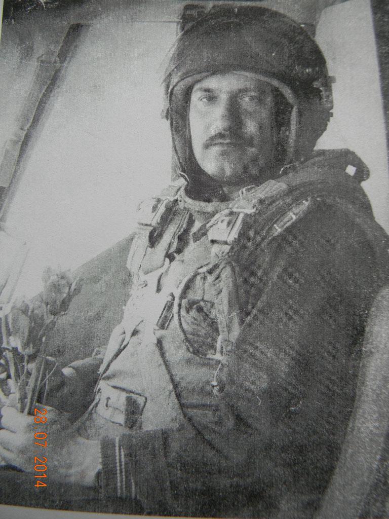 Разин Александр Васильевич. Подполковник, прослужил в вертолетной авиации 16 лет. 1985 год.