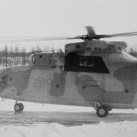 Ми-6. 61 пошел на взлет