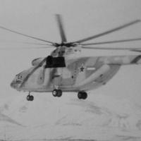 Ми-6. 61 над колымской землей..