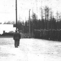 1979 г. Магаданская область, п. Сокол. Развод эскадрильи
