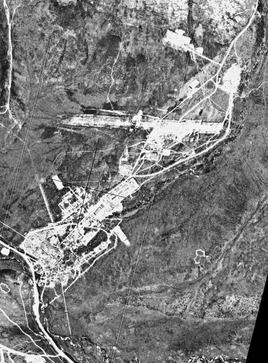 Спутниковый снимок «Магадан - 47» от 26.07.1976 года.