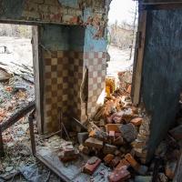 Развалины бывшей бани