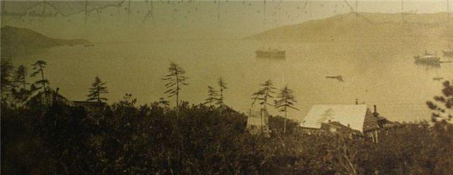 Бухта Нагаево. 30-е годы..