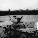 Дорнье «Валь» СССР-H1. Первоначальное название «Комсеверпуть-1». На нем экспедиция Обручева прилетала в бухту Нагаева