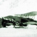 Парад самолетов в бухте Нагаева. 1935 год