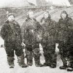 Экипаж ПС перед вылетом из Нагаево к геологам