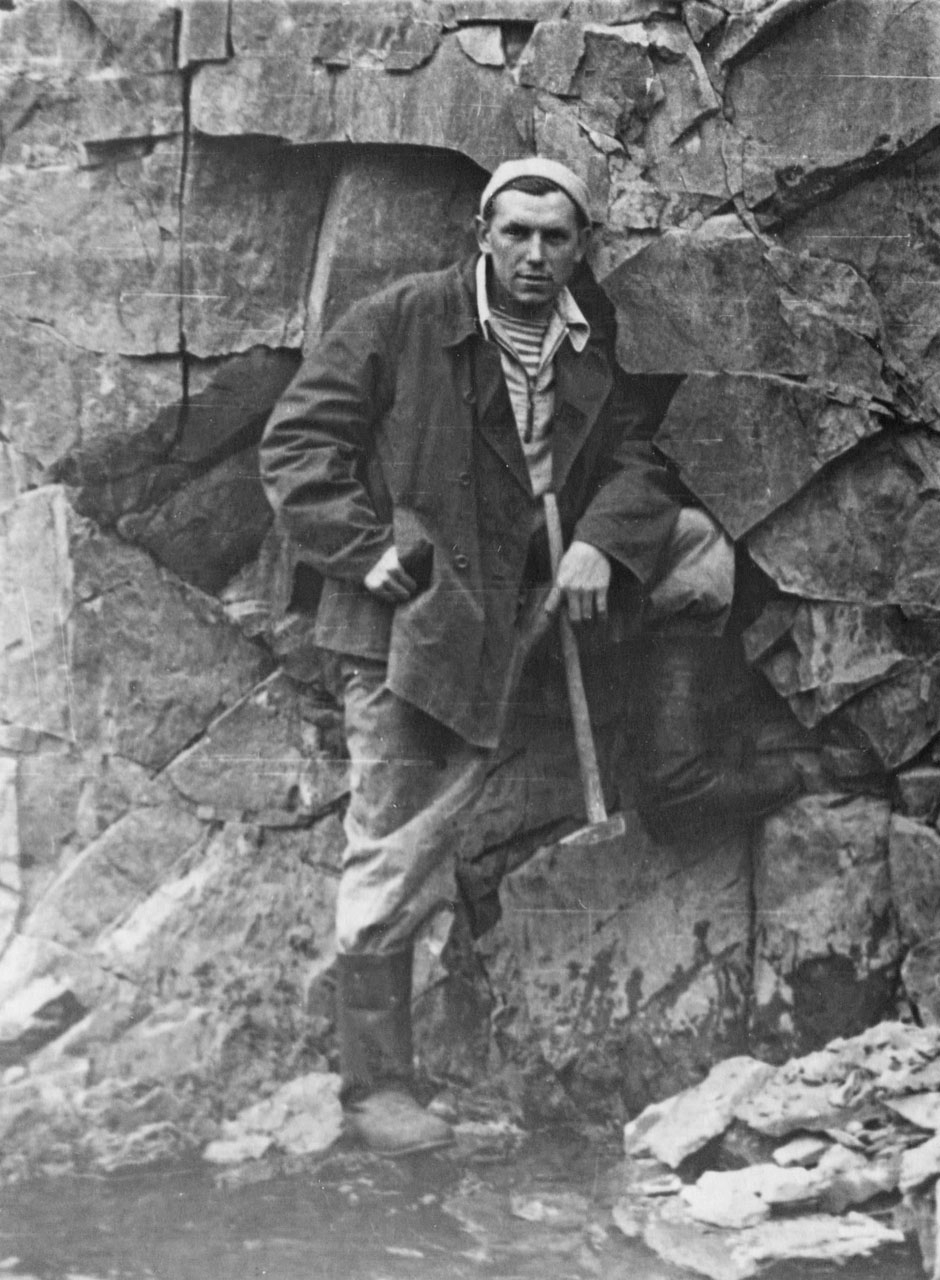 Афанасьев В.И. 1956 год. Фото из архива Елены Афанасьевой-Демчук.
