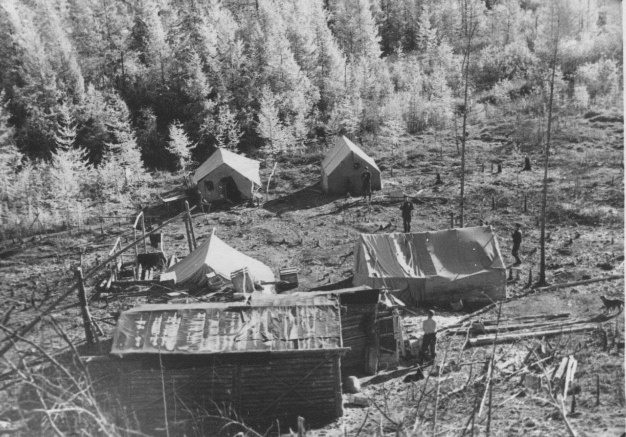 База геологов. Фото из архива Елены Афанасьевой-Демчук.