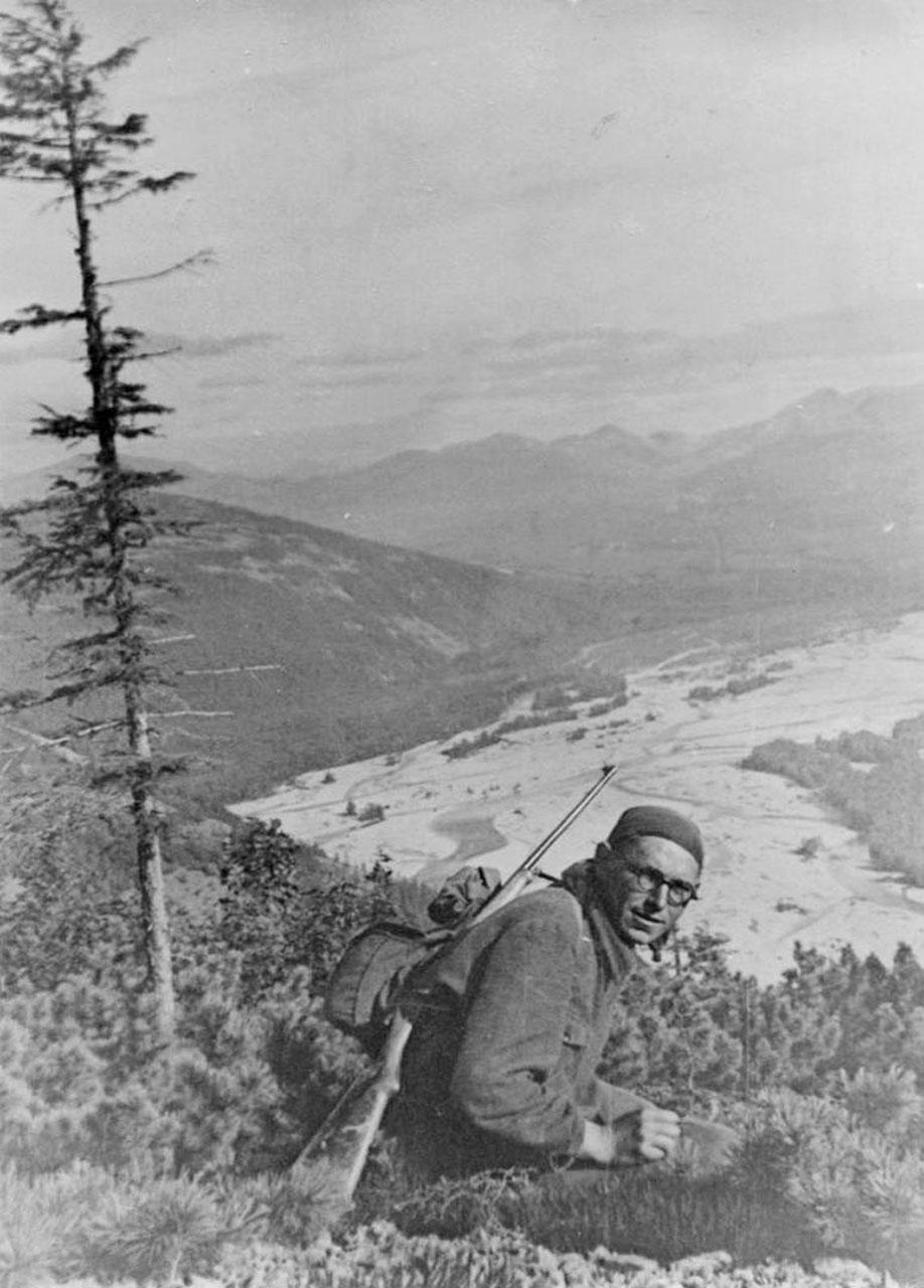 Афанасьев В.И. 1957 год. Фото из архива Елены Афанасьевой-Демчук.