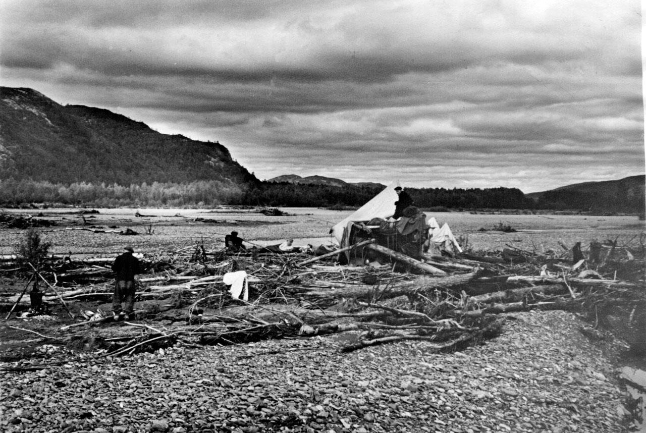 Река Яна. 1958 год. Фото из архива Елены Афанасьевой-Демчук.
