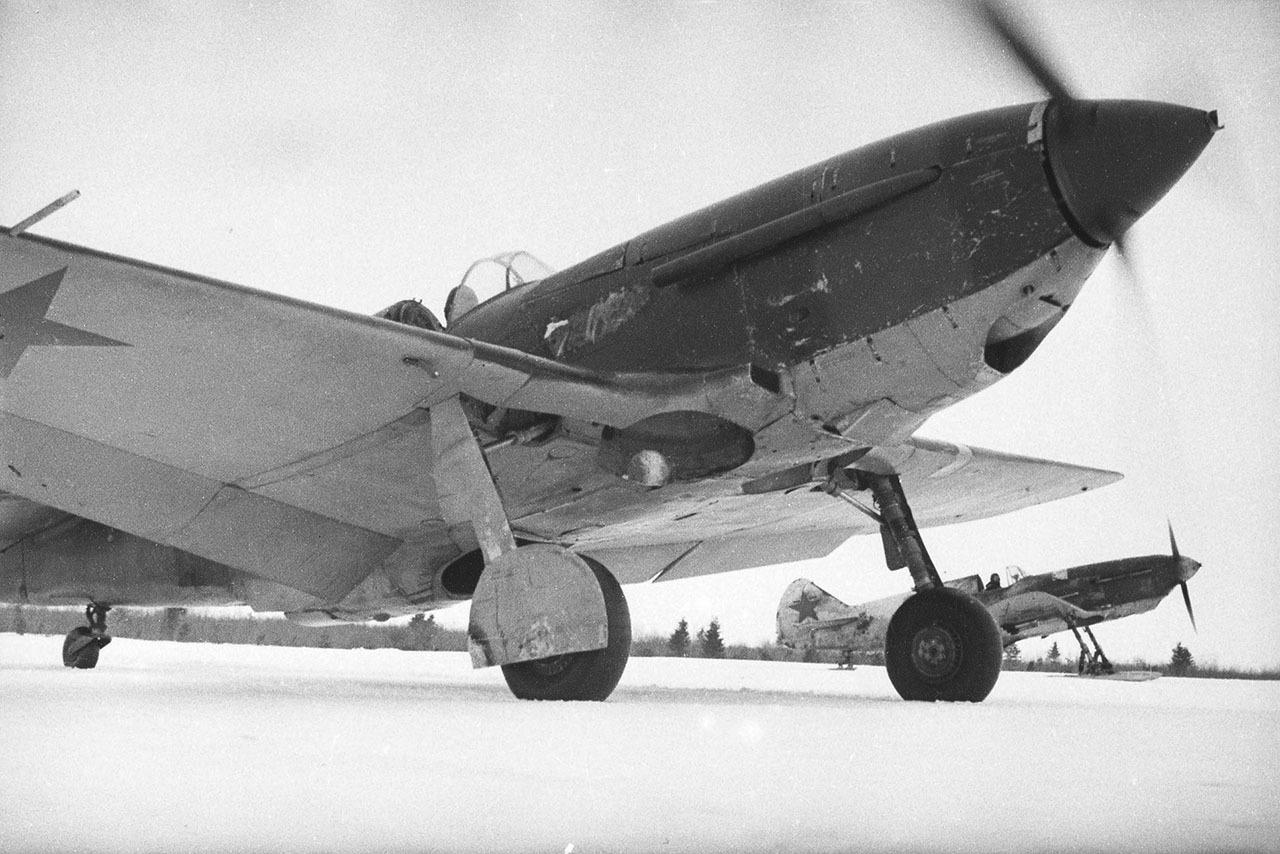 Истребитель ЛаГГ-3. 1941-9142 годы.