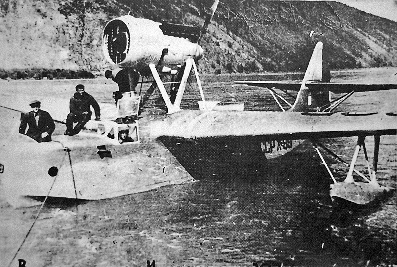 МП-1 авиаотряда Дальстроя на Индигирке. 1937 год.