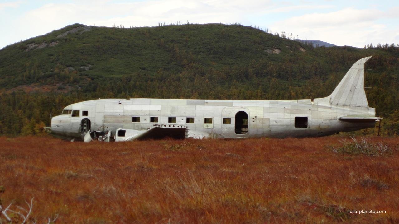 Самолёт потерпевший крушение в районе Тахтоямска.