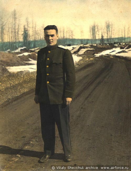 1 ПАП. Техник, лейтенант Виталий Андреевич Шевчук