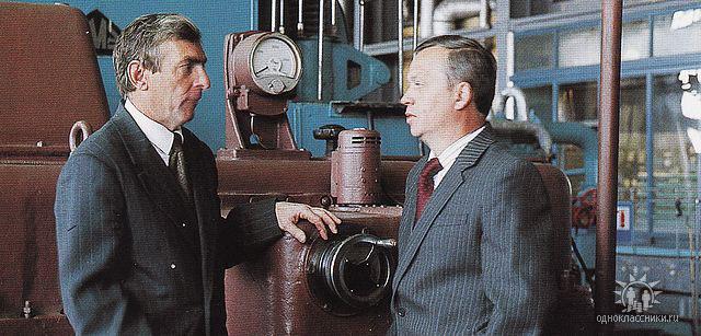 Зам. директора А.А. Мрищук и гл. инженер В.Б. Гарусов.