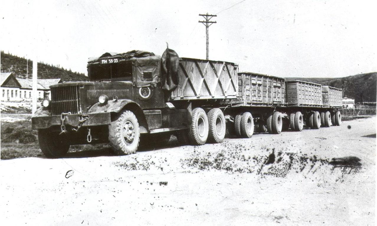 Diamond T 980. Колымская трасса.