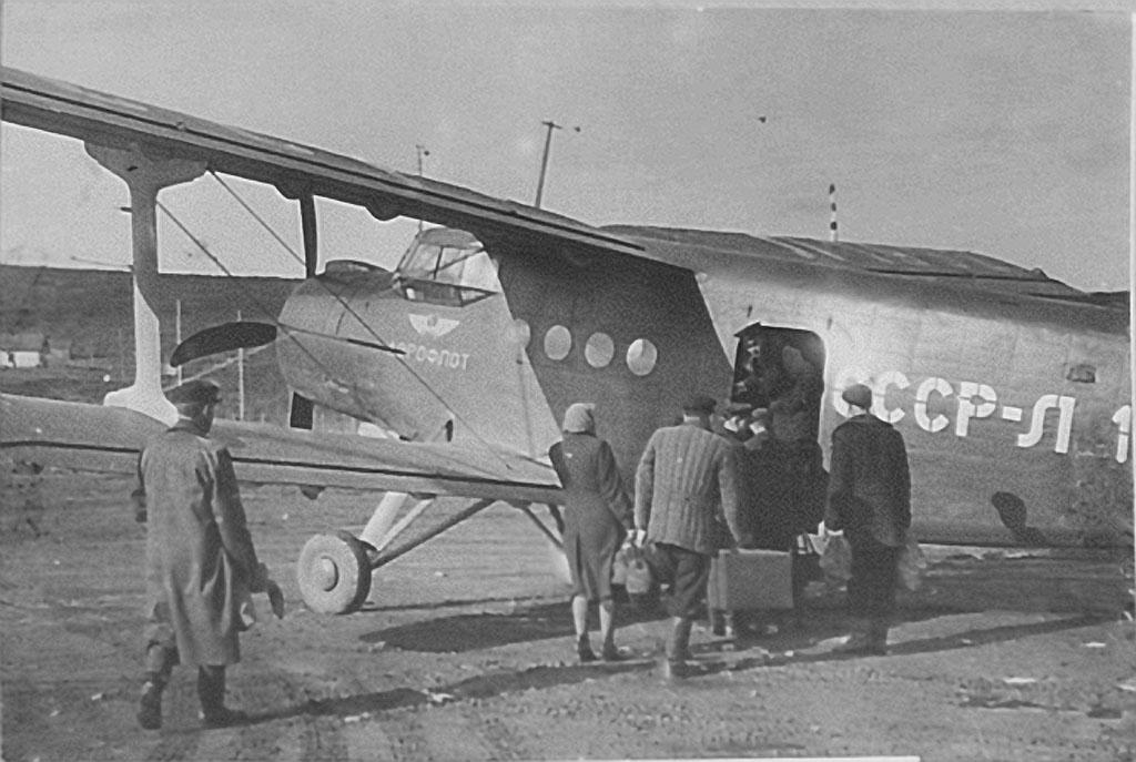 Неутомимый труженник Ан-2.