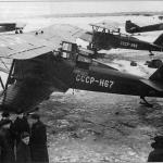 ЛП-5 (АРК-5), с бортовым номерам СССР-Н68 М.В. Водопьянова.