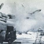 Подготовка Ан-12 к вылету