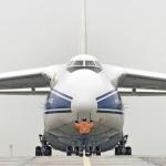 Рабочие колеса для Усть-Среднеканской ГЭС доставлены в аэропорт Магадан-56 исполинским грузовиком  Ан-124 в 2006 и 2008 году.