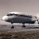 Именно на этом самолете ИЛ-18 Любовь Уланова установила несколько мировых рекордов