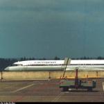 Магаданский Ту-154,  он был сфотографирован в аэропорту Сиэтла.