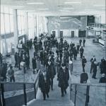 Так выглядел зал регистрации в 1975 году