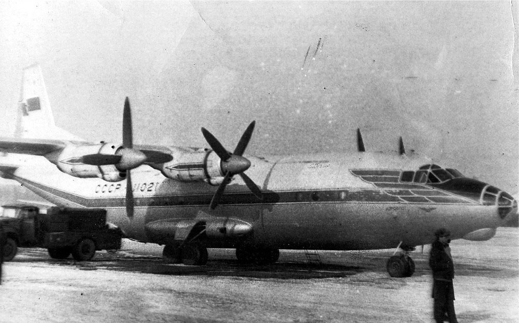 Сеймчанский аэропорт. Ан-12