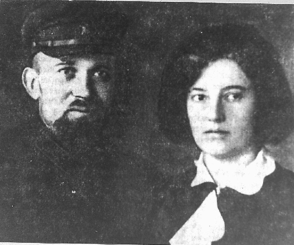 Эдуард Берзин с женой Эльзой Берзин