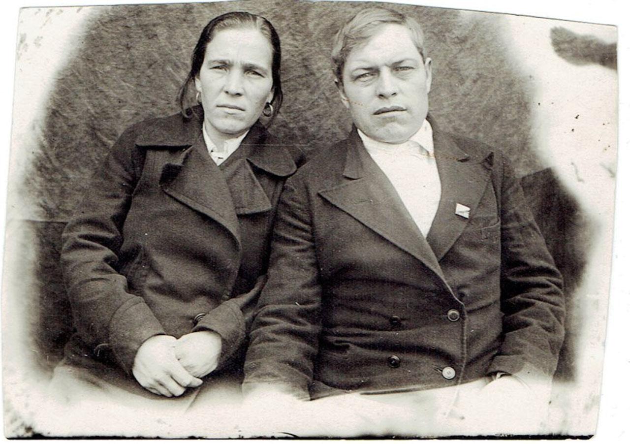 Супруги Золотухины.