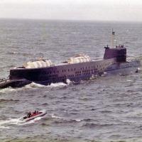 БС-486 «Ленок» в море.