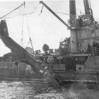 Самолет с ТАКР «Минск» 1989год. Уссурийский залив (фото с гр. ОДАСС)