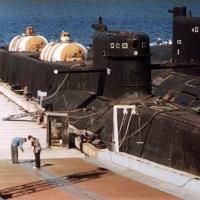БС-486 «Ленок» у причала.
