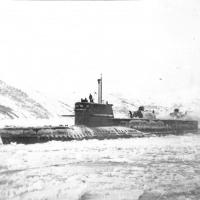 БС-486 «Комсомолец Узбекистана» в бухте Нагаева.