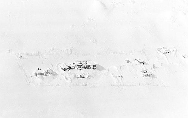 Лагерь «Сопка». Зима. Бутугычаг.