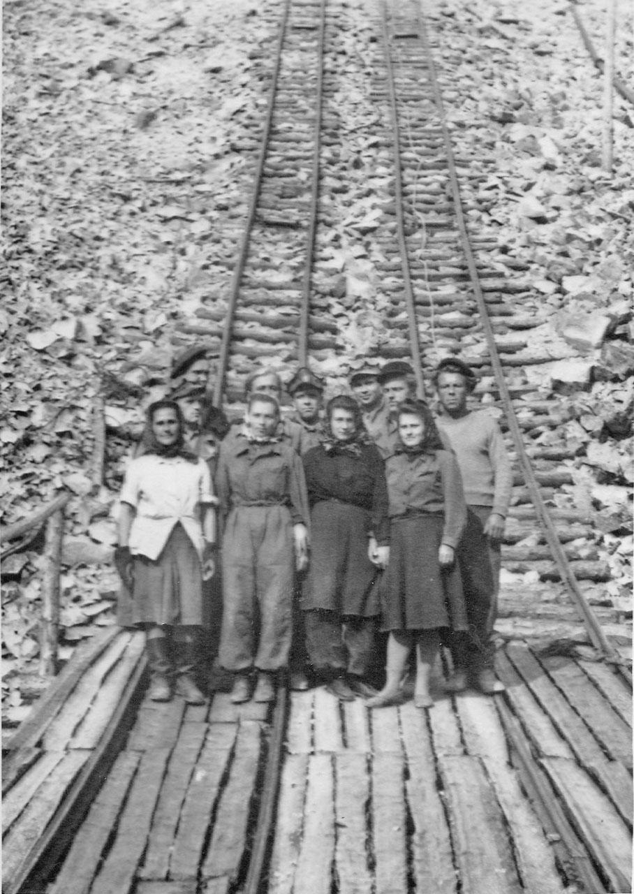 Рудник Хениканджа. Середина 50-х годов ХХ-го века.