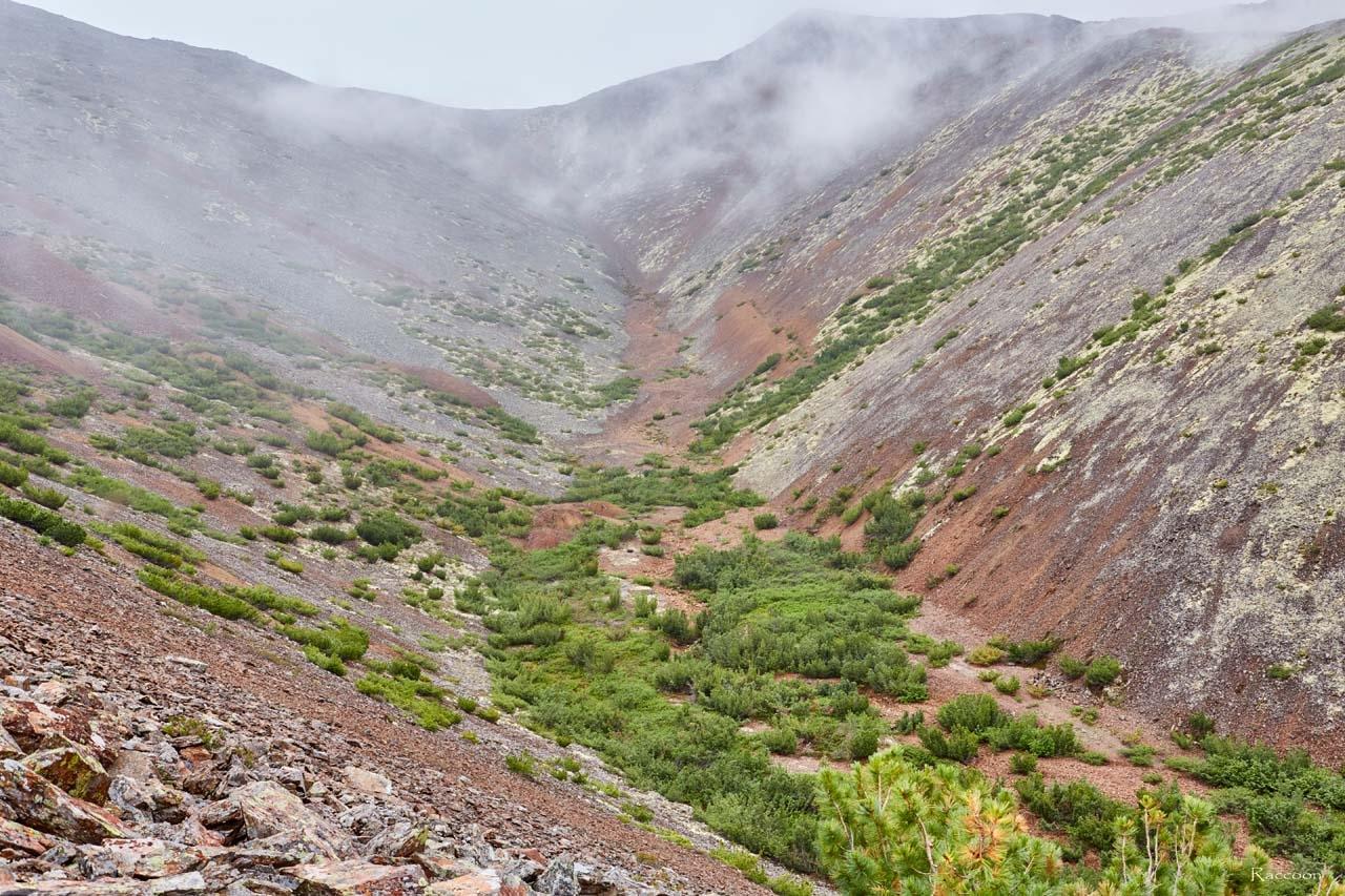 Распадок на руднике Кинжал. 2017 год.