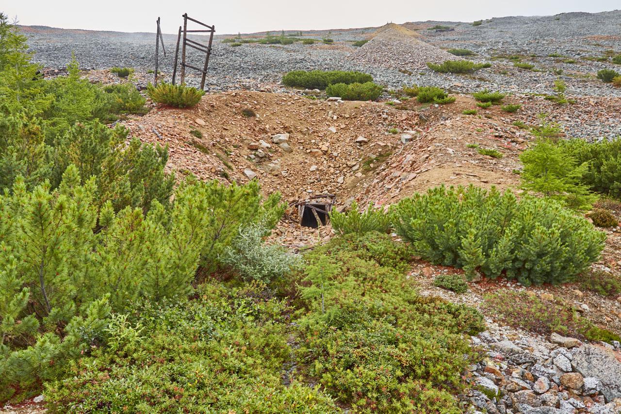 Первая штольня рудника. Рудник «Сталинградец».