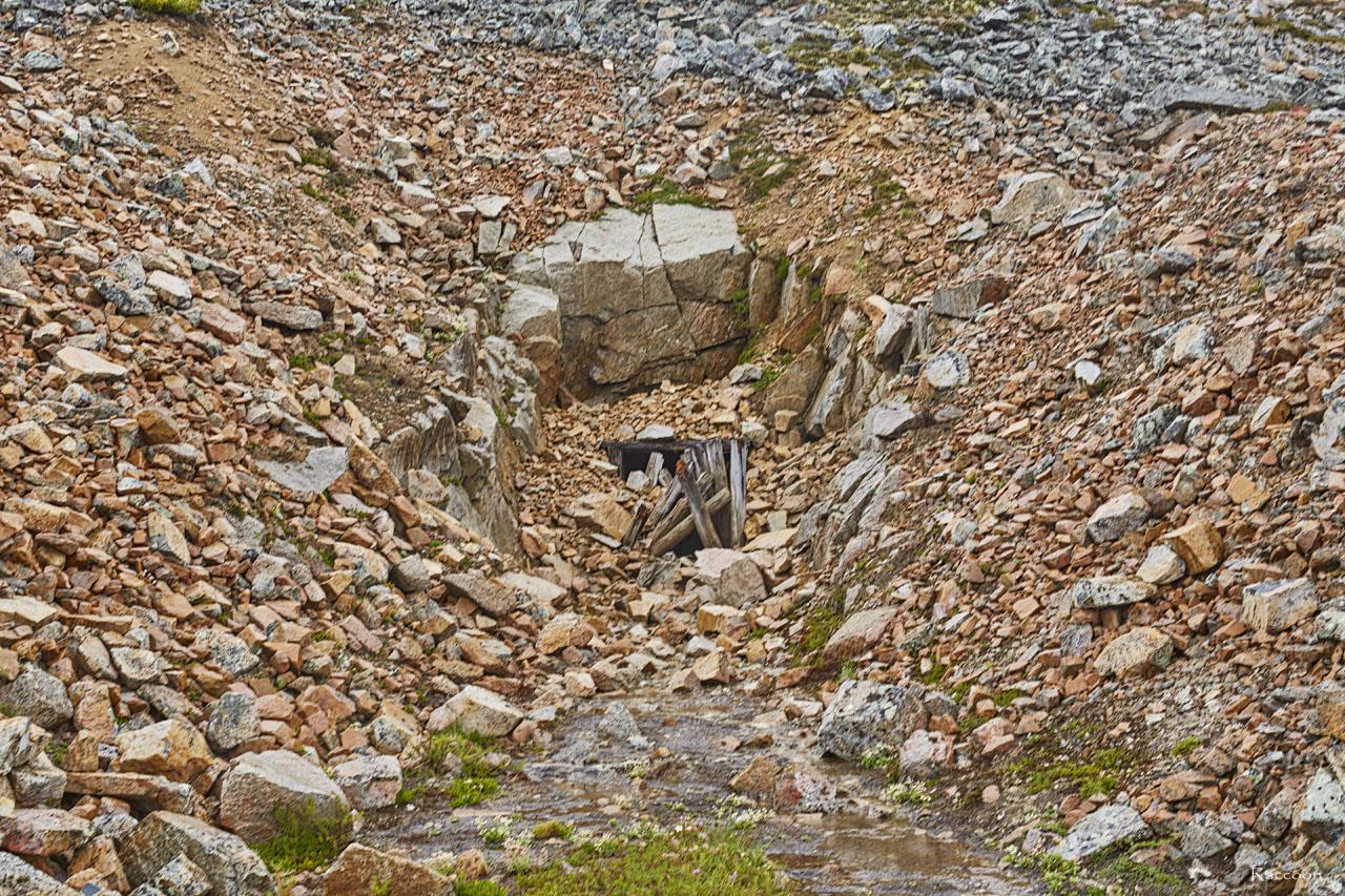 Штольня рудника. Рудник «Сталинградец».