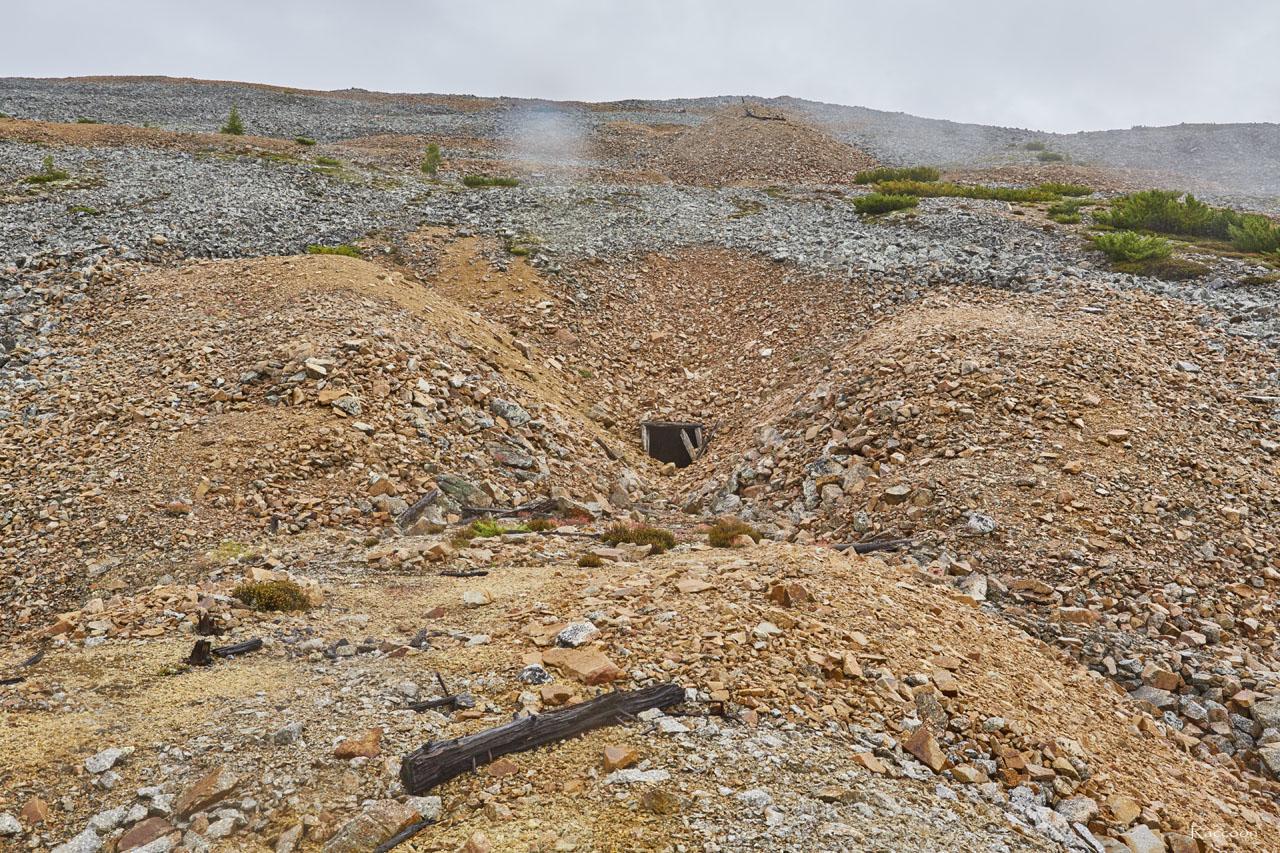 Подходы к штольне.Рудник «Сталинградец».