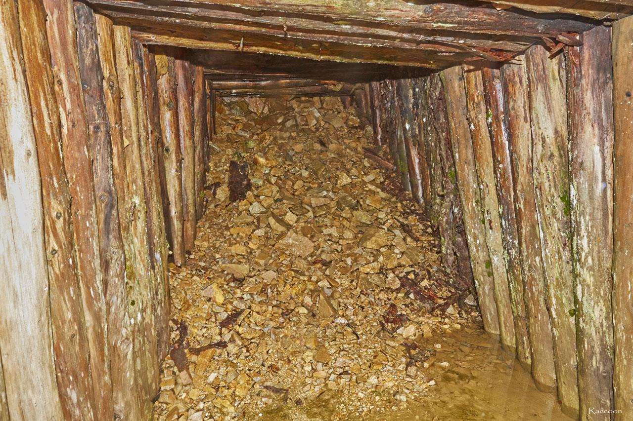 Заваленная штольня.Рудник «Сталинградец».