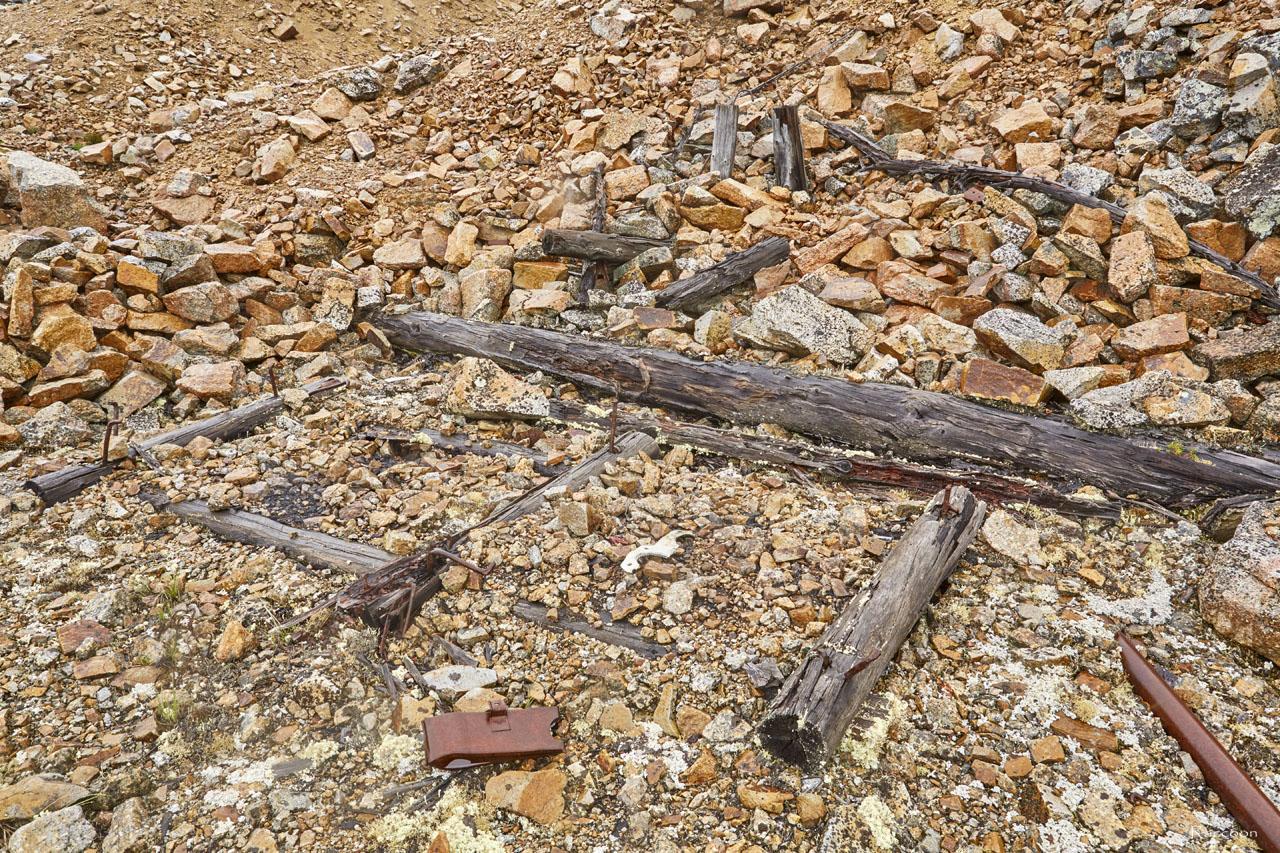 Останки от здания насосной.. Рудник «Сталинградец».