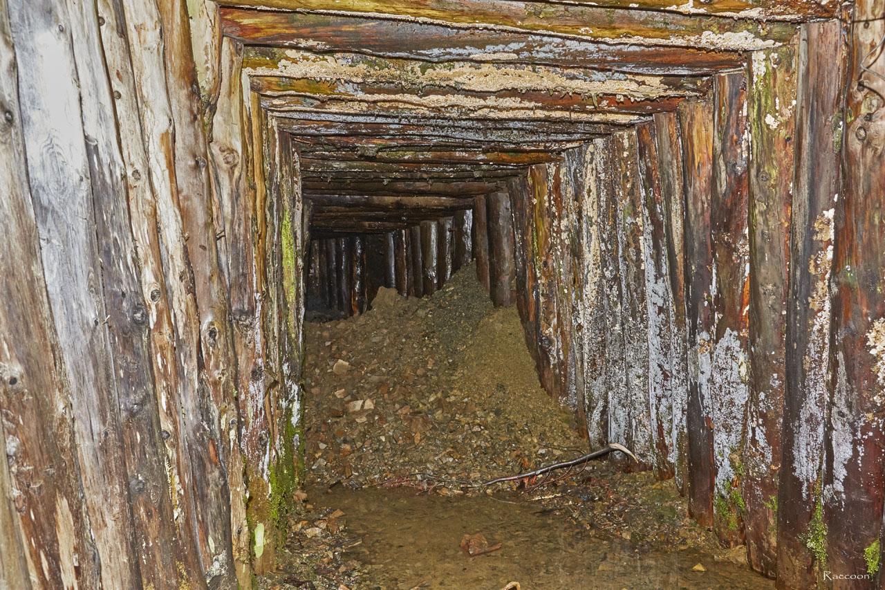 Штольня рудника. Рудник«Сталинградец».